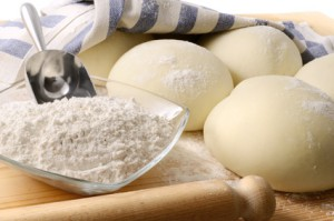 Dough for bread and pizza (2)
